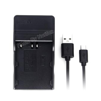 BLM-1 Ultra Slim USB Charger for Olympus C-5060 Wide Zoom C-7070 Wide Zoom C-8080 Wide Zoom E-1 E-3 E-30 E-5 E-520 EVOLT E-300 EVOLT E-330 EVOLT E-500 EVOLT E-510 - intl