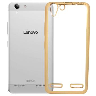 Softcase Silicon Jelly Case List Shining Chrome for Lenovo Vibe K5 – Gold