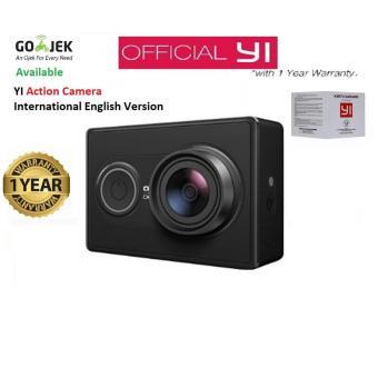 Xiaomi Yi Action Camera - 16 MP - Hitam - International Version