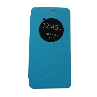 Ume Asus Zenfone Zoom ZX551ML View / Flipshell / Flip Cover / Leather Case / Sarung HP / Samsung Asus Zenfone Zoom - Biru Muda