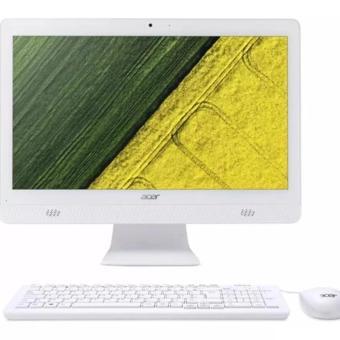 Jual ACER Aspire C20-720 All-in-One PC (Intel Celeron J3060, 2Gb DDR3, 500Gb HDD,19.5