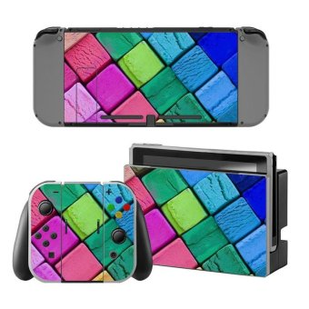 Decal Skin Sticker Dust Protector for Nintendo Switch Console ZY-Switch-0141 - intl