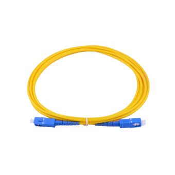 ZUNCLE 3M SC/PC-SC/PC Single Mode Optical Fiber Patch Cord (Yellow)