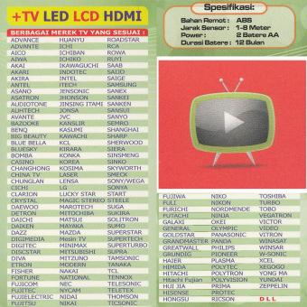 EELIC RTV-1 (AT) Remote Televisi Universal