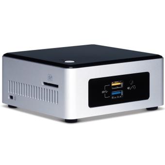 Intel NUC Mini PC 4 GB Core i3 Broadwell 5010U NUC5I3RYH Hitam .