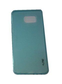 Ume Samsung Galaxy S6 Edge+ / Samsung Galaxy S6 Edge Plus / Samsung S6 Edge+ / Samsung Note 5 Edge Ultrathin / Silikon Samsung S6 Edge Plus / Silicone / Ultra Thin - Biru Transparan