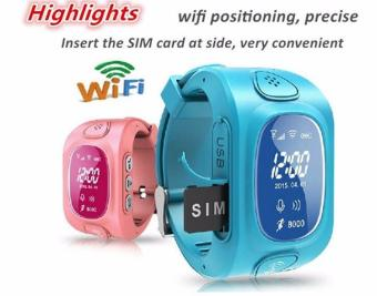 2Cool Children Smart Watch with Phone Call SOS Anti Lose GPS Tracker WiFi Position Kids Smart Watch for iPhone Android Smart Phone - intl