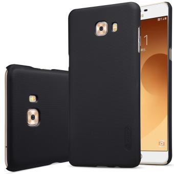 Nillkin Super Frosted Shield with Screen Protector Ultra Thin Hard PC Case Back Cover for Samsung Galaxy C9 Pro (Black) - intl