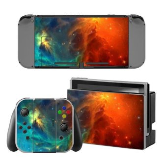 NEW Game Decal Skin Sticker Anti-dust PVC Protector For Nintendo Switch Console ZY-Switch-0027 - intl