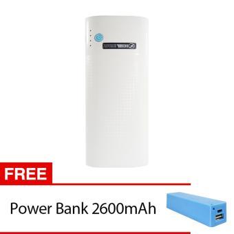 Jual Power bank zazetech 8400mAh Free Power Bank 2600mAh - Putih Harga Termurah Rp 163000. Beli Sekarang dan Dapatkan Diskonnya.