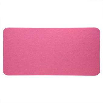 Harga 68x33cm Felts Table Mouse Pad Office Desk Laptop Anti-static Computer PC Pads Pink
