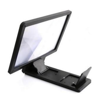 Monitors AnyWhere Zoom Magnifier Mobile Phone / Enlarged Screen Smartphone Projection / Kaca Pembesar Layar HP - Hitam