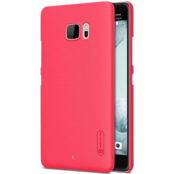 Nillkin Super Frosted Shield with Screen Protector Ultra Thin Hard PC Case Back Cover for HTC U Ultra (Red) - intl