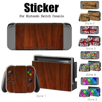 Decal Skin Sticker Dust Protector for Nintendo Switch Console ZY-Switch-0143 - intl