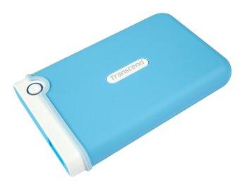 Jual Transcend Harddisk External 1 TB USB 3.0 Transcend StoreJet 25M3 - Baby Blue Harga Termurah Rp 990000.00. Beli Sekarang dan Dapatkan Diskonnya.