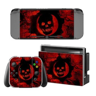 Decal Human skeleton Skin Sticker Dust Protector For Nintendo Switch Console ZY-Switch-0189 - intl