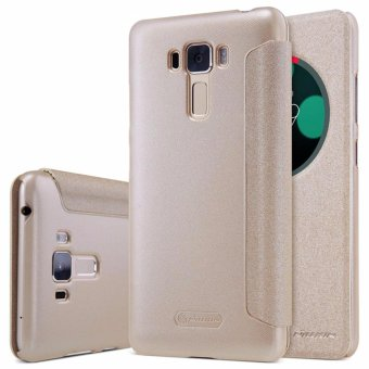 Nillkin Leather Case Sparkle Series Super Thin Flip Cover for ASUS Zenfone 3 Laser / ZC551KL - intl