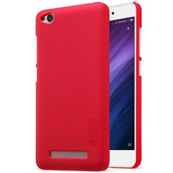 Nillkin Super Frosted Shield with Screen Protector Matte Ultra Thin PC Hard Back Case Cover for Xiaomi Redmi 4A (Red) - intl