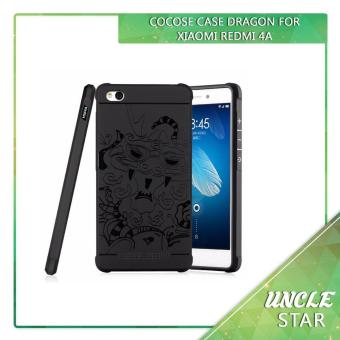 Murah ! Cocose Case Dragon Xiaomi Redmi 4a Tpu Softcase Backcase