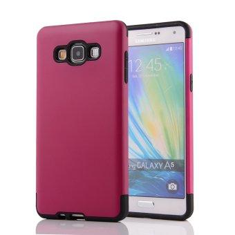 Untuk kasus RUILEAN Samsung Galaxy A5 (2015) slot kartu TPU + PCaman kejutan lapis