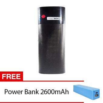 Jual Power bank zazetech 8400mAh Free Power Bank 2600mAh - Hitam Harga Termurah Rp 163000. Beli Sekarang dan Dapatkan Diskonnya.