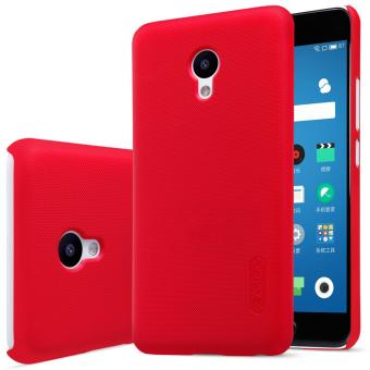 Nillkin Super Frosted Shield with Screen Protector Matte Ultra Thin PC Hard Back Case Cover for Meizu Meilan 5 M5 (Red) - intl