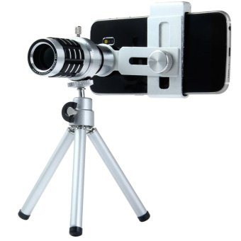 LIEQI LQ - 015 Fancy 12X Universal Zoom Telephoto Lens for Mobile Phone - intl