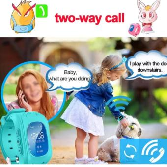 2Cool Children Smart Watch with Phone Call Anti Lose GPS Position Kids Watch - intl