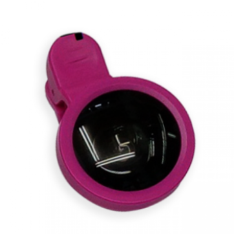 Harga Universal Clip Lense Superwide 0.4x Full Color - Silk Fabric Hot Pink