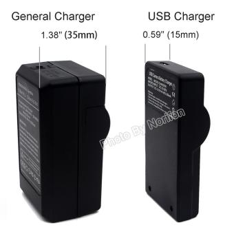 NP-60 Ultra Slim USB Charger for Fujifilm FinePix 50i FinePix 601 FinePix F401 FinePix F401 Zoom FinePix F410 FinePix F410 Zoom FinePix F601 FinePix F601 Zoom FinePix M603 FinePix M603 Zoom Battery - intl
