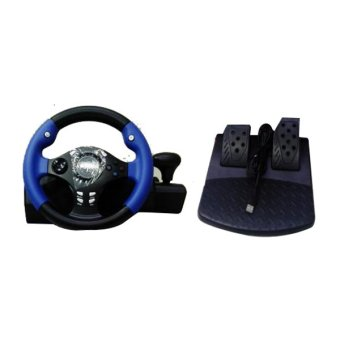 harga Racing Game Steering Wheel / Racing Wheels/ Stir PS3/PS2/pc/ F4 Super Racing Wheels Lazada.co.id