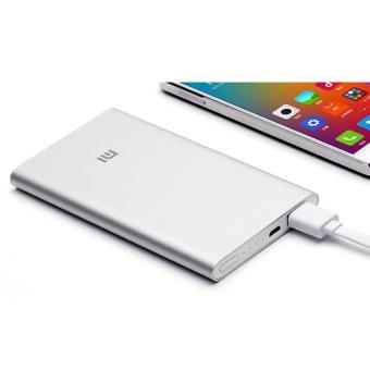 Jual Xiaomi Power Bank 5000mAh (ORIGINAL) - Silver Harga Termurah Rp 378900.00. Beli Sekarang dan Dapatkan Diskonnya.