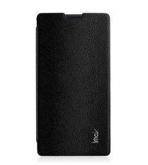Imak Leather Flipcase - Xiaomi Redmi 1S - Hitam