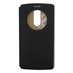 IMO Leather Case LG G3 Beat Fresh Leather Case - Hitam