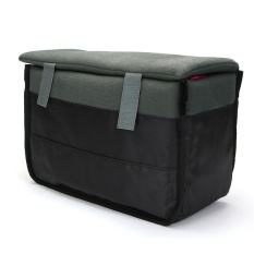 Insert Padded Camera Bag for DSLR Folding Divider Partition Protect Case Black - intl
