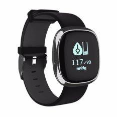 IP67 Waterpoof P2 Heart Rate Blood Pressure Monitor Smart Wristband Bluetooth Smart Bracelet Pedometer Smartband - intl