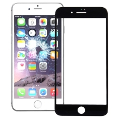 IPartsBuy For IPhone 7 Plus Front Screen Outer Glass Lens (Black)