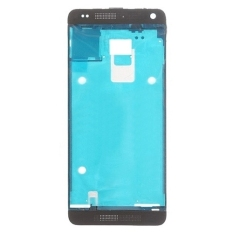 IPartsBuy Front Housing LCD Frame Bezel Plate Replacement For HTC One Mini M4 (Black)