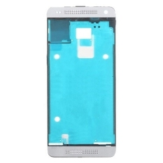 IPartsBuy Front Housing LCD Frame Bezel Plate Replacement For HTC One Mini M4 (White)