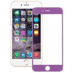 IPartsBuy Front Screen Outer Glass Lens For IPhone 6 Plus (Purple)
