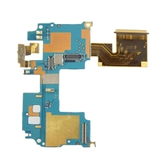 IPartsBuy Mainboard and Power Button Flex Cable and Camera Mainboard Replacement For HTC One M8 (Blue)