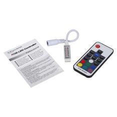IR Remote Wifi Controller for 3528 5050 RGB LED Strip Light # 17 Keys - intl