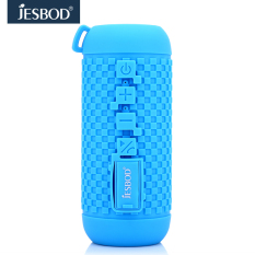 Jesbod J16 Sports Bluetooth Speaker IPX7 Waterproof Design Portable Wireless Loudspeaker Sound System 3D Stereo Music Surround (Light Blue)