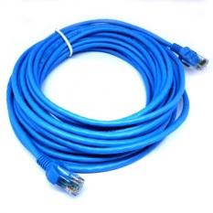 Kabel LAN 15 Meter RJ45 CAT5E - Biru
