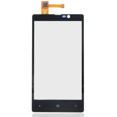 Kaca Layar Untuk Nokia LUMIA 820 N820 (Hitam)