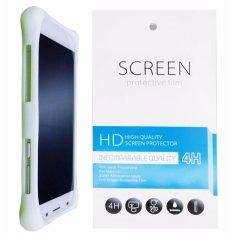 Kasing Silikon Universal Bumper Case Wadah Cover Casing - Putih + Gratis 1 Clear Screen Protector untuk Asus Zenfone Go ZB500KL