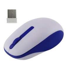 Keyboard 2.4Ghz Wireless Optical Usb Gaming Mouse Mice For Computerpc Laptop (Blue / White)