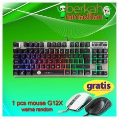 keyboard gaming fantech k611 free mouse g12