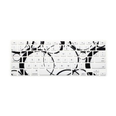 Keyboard Protector 11 Inch For Apple MacBook Air MacBook Pro (Black and White Circle) (Intl)