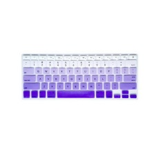 Keyboard Protector 17 Inch For Apple MacBook Air MacBook Pro (Gradient Purple Rainbow) - Intl